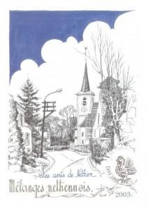 Couverture Mélanges Néthennois 2003